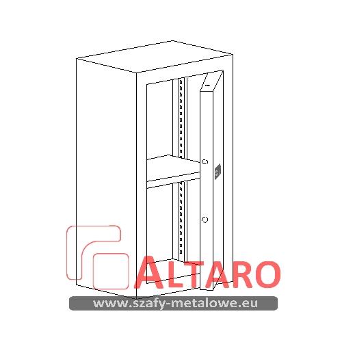szafy metalowe atestowane klasy A na dokumenty niejawne i poufne ALTARO